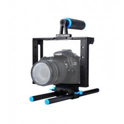 單眼相機 手提兔籠 影穩定支架 兔籠 手把 5D4 5D3 6DII 7DII 80D A7M3 GH5