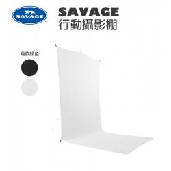 SAVAGE 行動攝影棚 5x12英尺 1.52m x 3.66m BT01512-KIT 白色