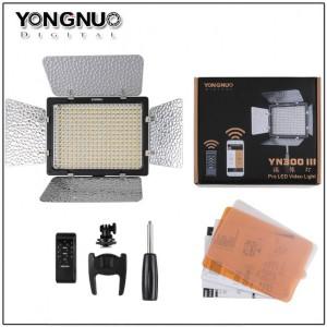 永諾 YN300III LED燈三代雙色可調色溫版 無線遙控 攝影燈