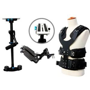 攝像斯坦尼康 小斯 單臂背心 碳纖維直杆穩定器