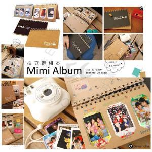 Mini album 拍立得相本 20頁 60張