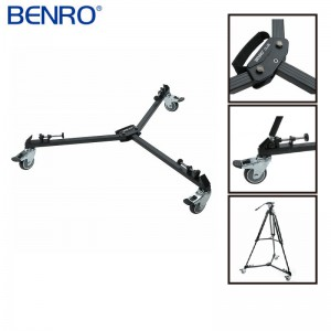 Benro 百諾 DL06 錄影用三角架滑輪 地輪 專業級三腳架 滑輪 底座滑輪 勝興公司貨