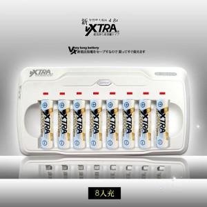 日本技研 VXTRA 3.4號電池低自放鎳氫專用4.8A大電流智慧型充電器