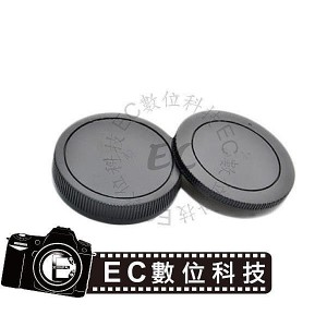 EOS M相機專用機身鏡頭前後蓋組