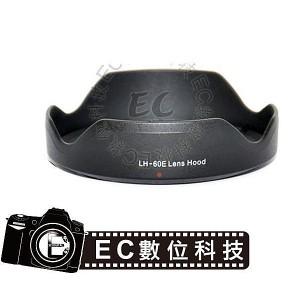 同Canon EOS M 專用EW-60E蓮花遮光罩