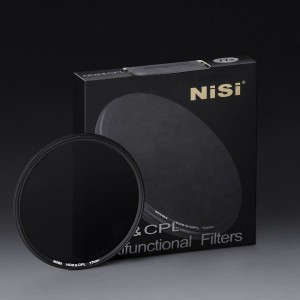 NISI ND8 & CPL 52mm 多功能 二合一 減光鏡 偏光鏡 偏光中灰濾鏡 超薄3.5mm