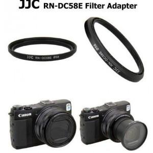 Canon相機專用LA-DC58E金屬卡口濾鏡轉接環 外徑58mm