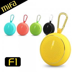 MiFa F1 繽紛馬卡龍隨身藍牙MP3喇叭 藍芽無線播放 輕巧戶外好攜帶 10小時持續播放 附運動掛勾