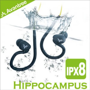 Avantree Hippocampus 後掛式運動防水耳機 可下水使用 重低音震撼 符合人體工學 游泳/浮