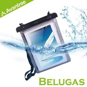 Avantree Belugas 10吋平板萬用防水袋 潛水/戶外可用 收納物品防止汙損浸濕 附頸掛式吊繩