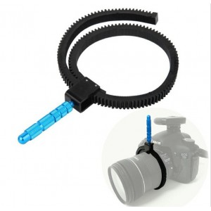 跟焦環金屬撥桿 單眼相機 追焦環 綁帶式對焦環