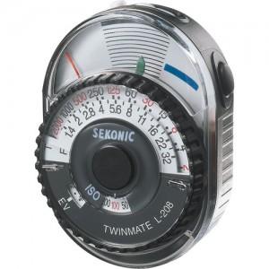 SEKONIC L-208 簡易型測光表 測光儀 亮度表 入射 反射 入門級 攝影側光