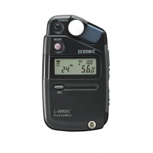 SEKONIC L-308DC 攝影/電影測光表 測光表袖珍型測光表 支援反射式 入射式測光