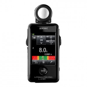 SEKONIC L-478D LiteMaster Pro 觸控式測光表(攝影/電影)