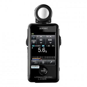 SEKONIC L-478DR 攝影/電影測光表/(觸控螢幕) Litemaster Pro