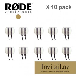 RODE invisiLav 10 pack 領夾式 麥克風 INVISI10PK