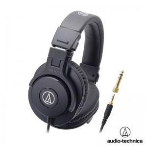 鐵三角 ATH-M30x 高音質錄音室用專業型監聽耳機 混音 專業監聽耳機 高清晰