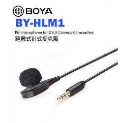 BOYA BY-HLM1 穿戴式針式麥克風