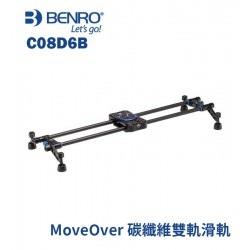 BENRO 百諾 C08D6B Move Over 碳纖維 雙軌滑軌