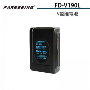 Farseeing 凡賽 FD-V190L V型鋰電池 14.8V/13Ah 監視器供電 相機供電