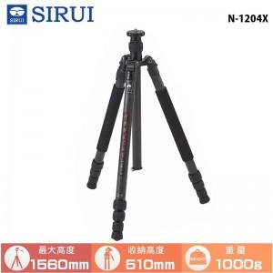 SIRUI 思銳 N-1204X 碳纖維三腳架 低角度拍攝 載重12KG 旅行外拍 錄影 相機腳架 獨腳架