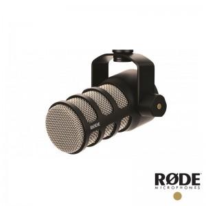 RODE PodMic 直播麥克風 廣播級麥克風 動圈式 全指向 XLR 錄音 錄音室 收音