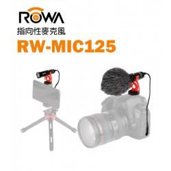 ROWA 樂華 RW-MIC125 指向性收音麥克風