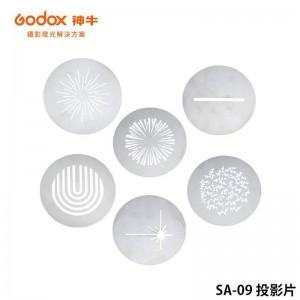 GODOX 神牛 SA-09 投影片 需另購SA-P投影器和SA-10投影套環搭配使用 S30 專用
