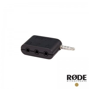 RODE SC6 3.5mm 雙 TRRS to TRS 轉接頭 雙麥克風 耳機 手機收音 平板收音