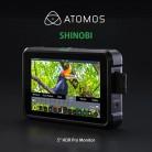 ATOMOS - Shinobi 高亮度監視螢幕 5.2吋 HDMI ATOMSHBH01 4K外接式螢幕