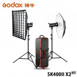GODOX 神牛 SK400II X2 KIT 雙燈套組 玩家棚燈2代 400瓦/110V 2.4G無線