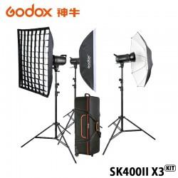 GODOX 神牛 SK400II X3 KIT 三燈套組 玩家棚燈2代 400瓦/110V 2.4G無線