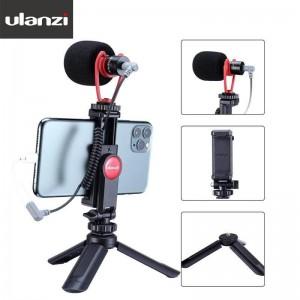 Ulanzi SAIREN Q1 Combo 1 手機專用錄影麥克風套裝組1號 手機夾 指向型麥克風