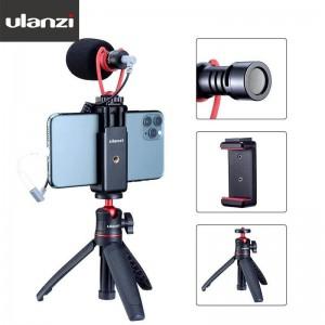 Ulanzi SAIREN Q1 Combo 2 手機專用錄影麥克風套裝組2號 手機夾 指向型麥克風