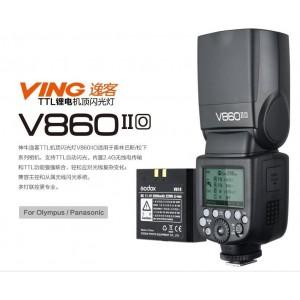 Godox 神牛 V860II-O 二代 鋰電池 TTL 機頂閃光燈 OLYMPUS PANASONIC