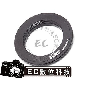 KiWiFotos專業級 Leica M42鏡頭 轉 4/3 機身 轉接環