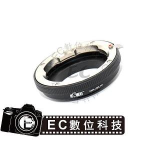 Kiwifotos專業級Leica M鏡頭轉Nikon 1機身轉接環