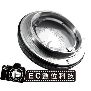 Retina DKL鏡頭轉Nikon AI機身可調光圈轉接環