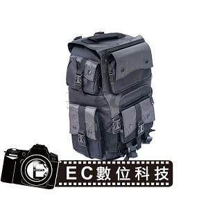 後背式大容量黑色尼龍相機包 EC-04