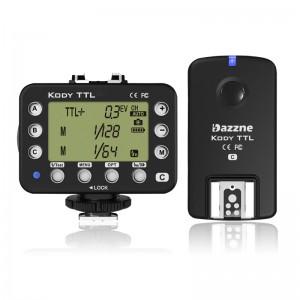 Kody 無線引閃器 (發射器+接收器) for Canon