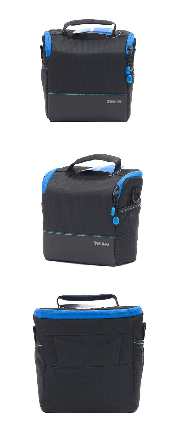 【EC數位】SAMURAI 新武士 S-CAM 01L 輕便旅遊手提相機包 一機二鏡 相機包 攝影收納袋 便攜包 攝影包
