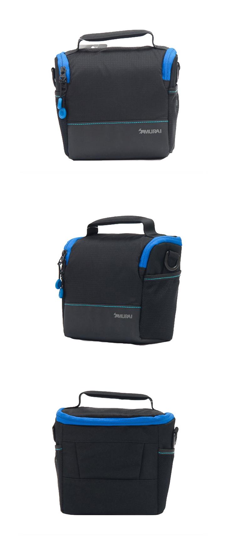 『e電匠倉』SAMURAI 新武士 S-CAM 01M 輕便旅遊手提相機包 一機二鏡 相機包 攝影收納袋 便攜包 攝影包
