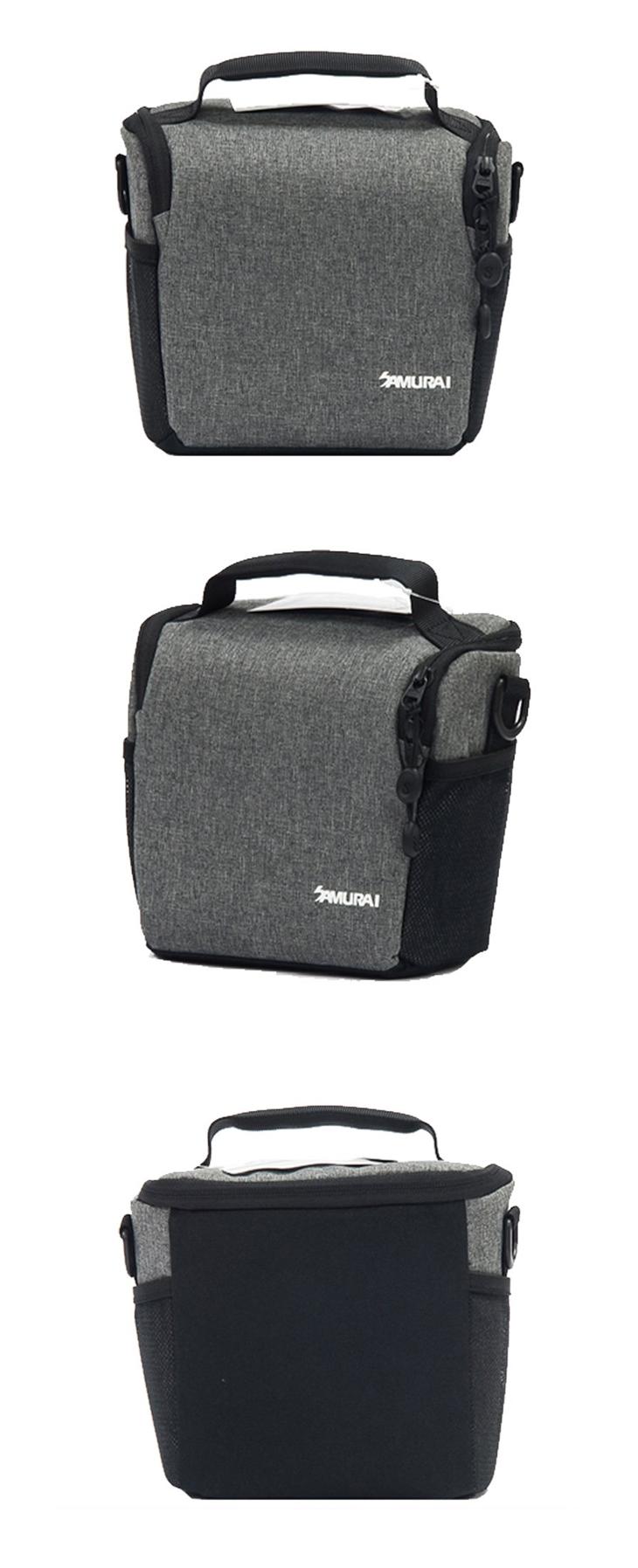 【EC數位】SAMURAI 新武士 S-CAM 02M 輕便旅遊手提相機包 一機二鏡 相機包 攝影收納袋 便攜包 攝影包
